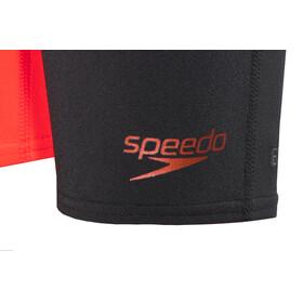 speedo Fastskin Endurance+ High Waist Jammer Junior Black/Siren Red